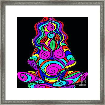 Mother Earth  Framed Print by Respect the Queen