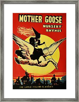 Mother Goose Framed Print by Bill Cannon