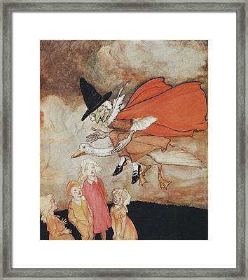 Mother Goose Framed Print by British Library