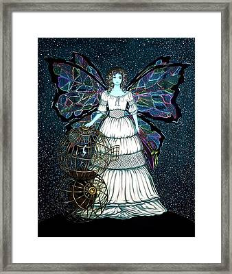 Mother Nature And  Human Framed Print by Donatella Muggianu