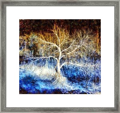 Mother Natures Dance Framed Print by Janine Riley