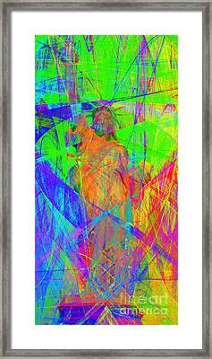 Mother Of Exiles 20130618m120 Long Framed Print by Wingsdomain Art and Photography