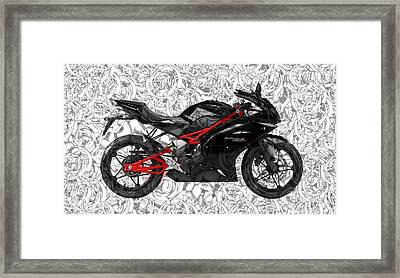 Moto Art S02-01a Framed Print by Variance Collections