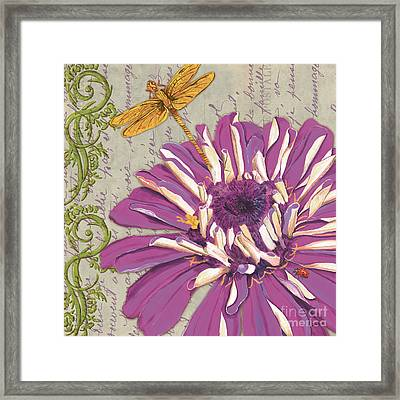 Moulin Floral 2 Framed Print by Debbie DeWitt