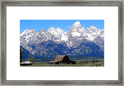 Moulton Barn Framed Print by Dan Sproul