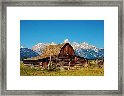 Moulton Barn Framed Print by Dany Lison