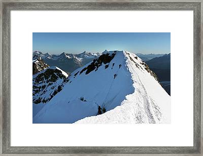 Mount Castor Framed Print by Martin Rietze