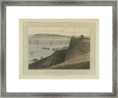 Mount Edgecumbe Framed Print by British Library