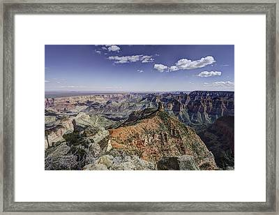 Mount Hayden Framed Print by Mike Herdering