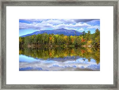 Mount Katahdin Framed Print by Denis Tangney Jr