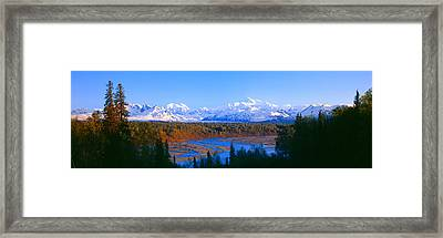 Mount Mckinley, Alaska Framed Print by Panoramic Images