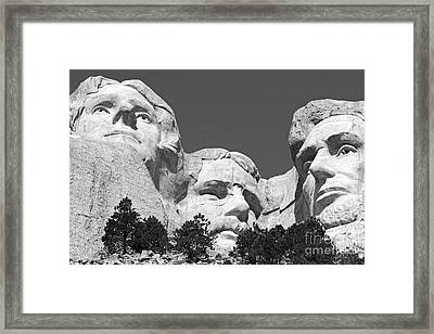 Mount Rushmore Framed Print by Alex Cassels