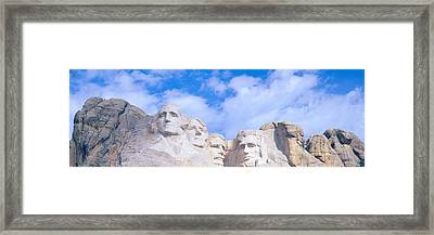Mount Rushmore, South Dakota Framed Print by Panoramic Images