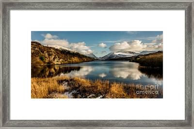 Mount Snowdon Framed Print by Adrian Evans
