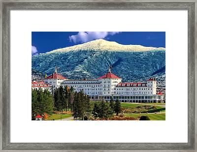 Mount Washington Hotel Framed Print by Tom Prendergast