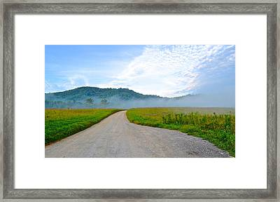 Mountain Air Framed Print by Frozen in Time Fine Art Photography