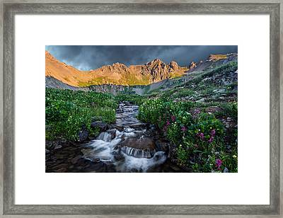 Mountain Bliss Framed Print by Guy Schmickle