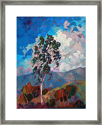 Mountain Gallery Framed Print by Erin Hanson