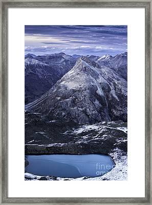 Mountain Lake  Framed Print by Timothy Hacker