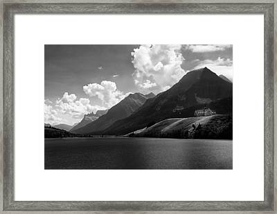 Mountain Lodge Framed Print by Andrew Soundarajan
