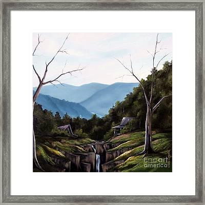 Mountain Memories Framed Print by Steven Lebron Langston