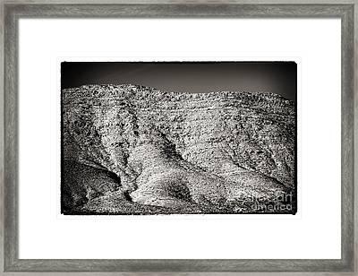 Mountain Mounds Framed Print by John Rizzuto