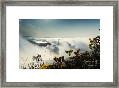 Mountain Of Dreams Framed Print by Along The Trail