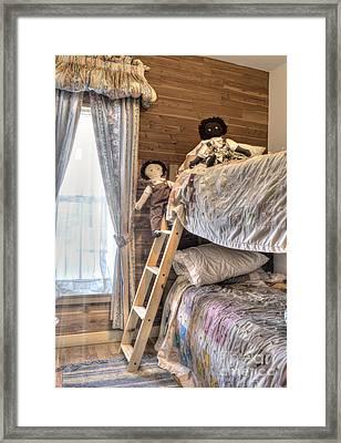 Mountain Sweet Childrens Room Framed Print by Juli Scalzi