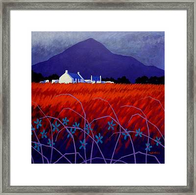 Mountain View  Framed Print by John  Nolan