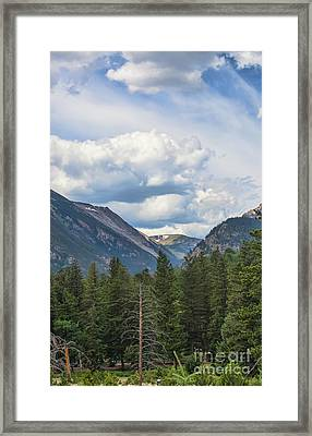 Mountain View Framed Print by Kay Pickens