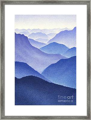 Mountains Framed Print by Dirk Dzimirsky