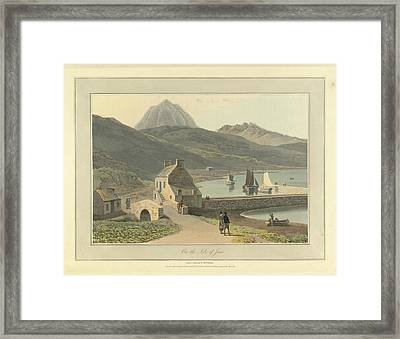 Mountains On The Isle Of Jura Framed Print by British Library