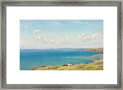 Mount's Bay C1899 Framed Print by Arthur Hughes