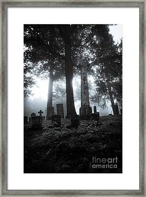 Mourning Fog Framed Print by CM Goodenbury