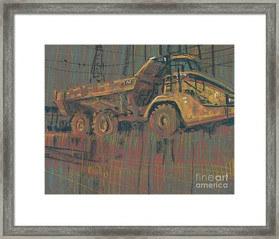 Mover Framed Print by Donald Maier