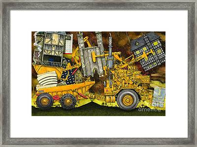Moving Home Framed Print by Colin Thompson