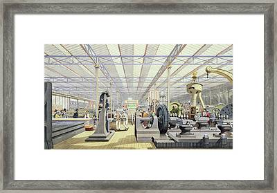 Moving Machinery, From Dickinsons Framed Print by English School