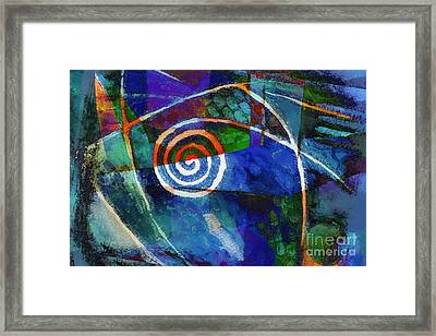 Moving Night Framed Print by Lutz Baar