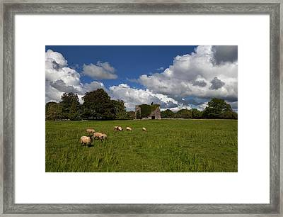 Moyne Castle Near Headford, Probably Framed Print by Panoramic Images