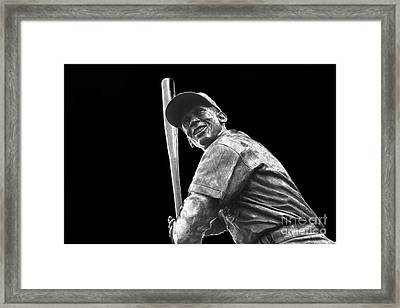 Mr. Cub Framed Print by David Bearden