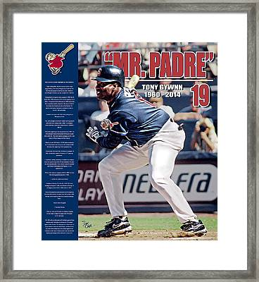 Mr Padre Framed Print by Don Olea