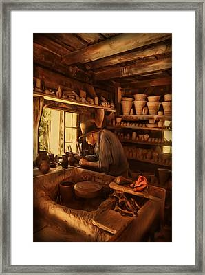 Mr. Potter Framed Print by Lourry Legarde