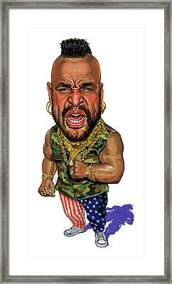 Mr. T Framed Print by Art