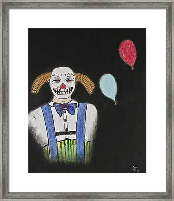 Mr. Wiggles Framed Print by Sean Mitchell