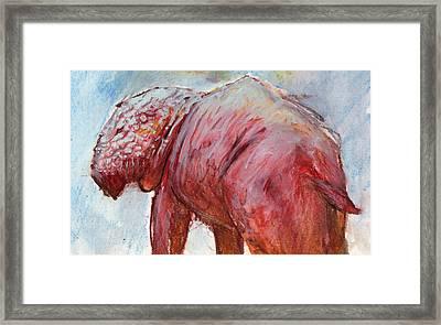 Mrbigpig Framed Print by Ethan Harris