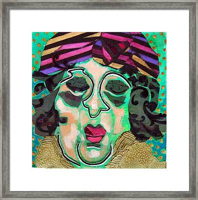 Mrs.eisenberg Framed Print by Diane Fine
