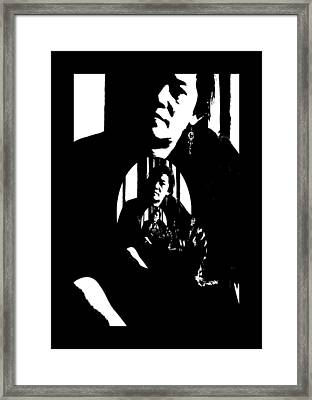 Ms Ritzy Framed Print by Serge Seymour