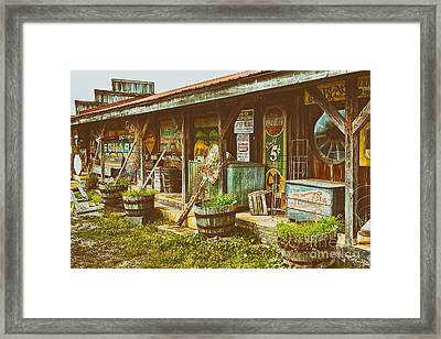 Mt. Airy Old Country Store II Framed Print by Dan Carmichael