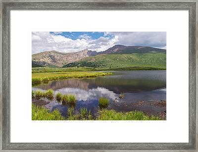 Mt. Bierstadt Framed Print by Aaron Spong
