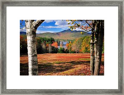 Mt Chocorua - A New Hampshire Scenic Framed Print by Thomas Schoeller
